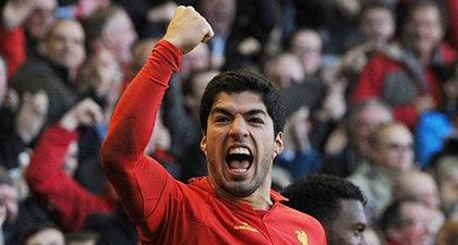 Liverpool - Luis Suárez (Forrás: Facebook / Liverpool FC)