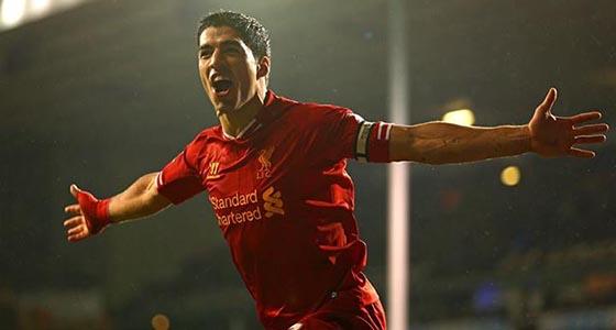 Luis Suárez (Forrás: Facebook / Liverpool FC)