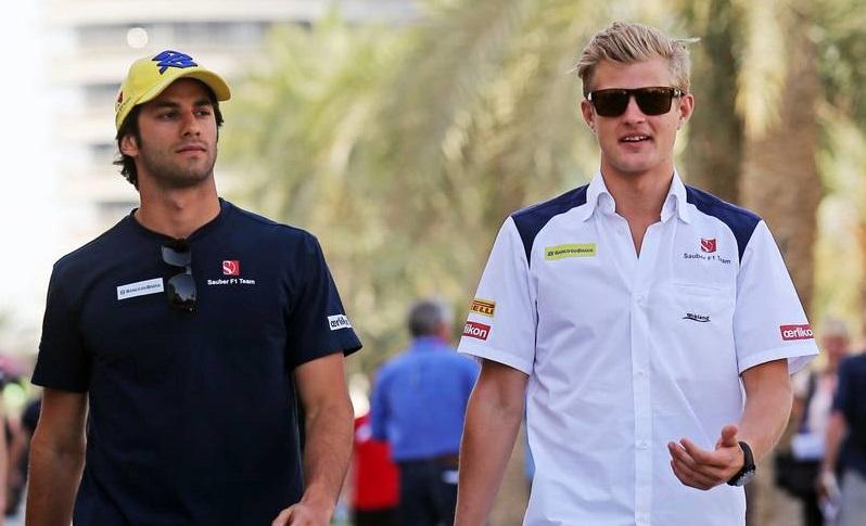 Felipe Nasr és Marcus Ericsson (Fotó: Moy / XPB Images)
