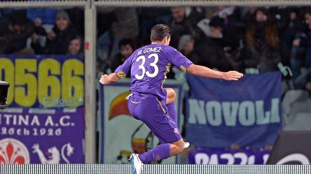 AC Fiorentina - Mario Gomez - Fotó: EPA/Maurizio Innocenti